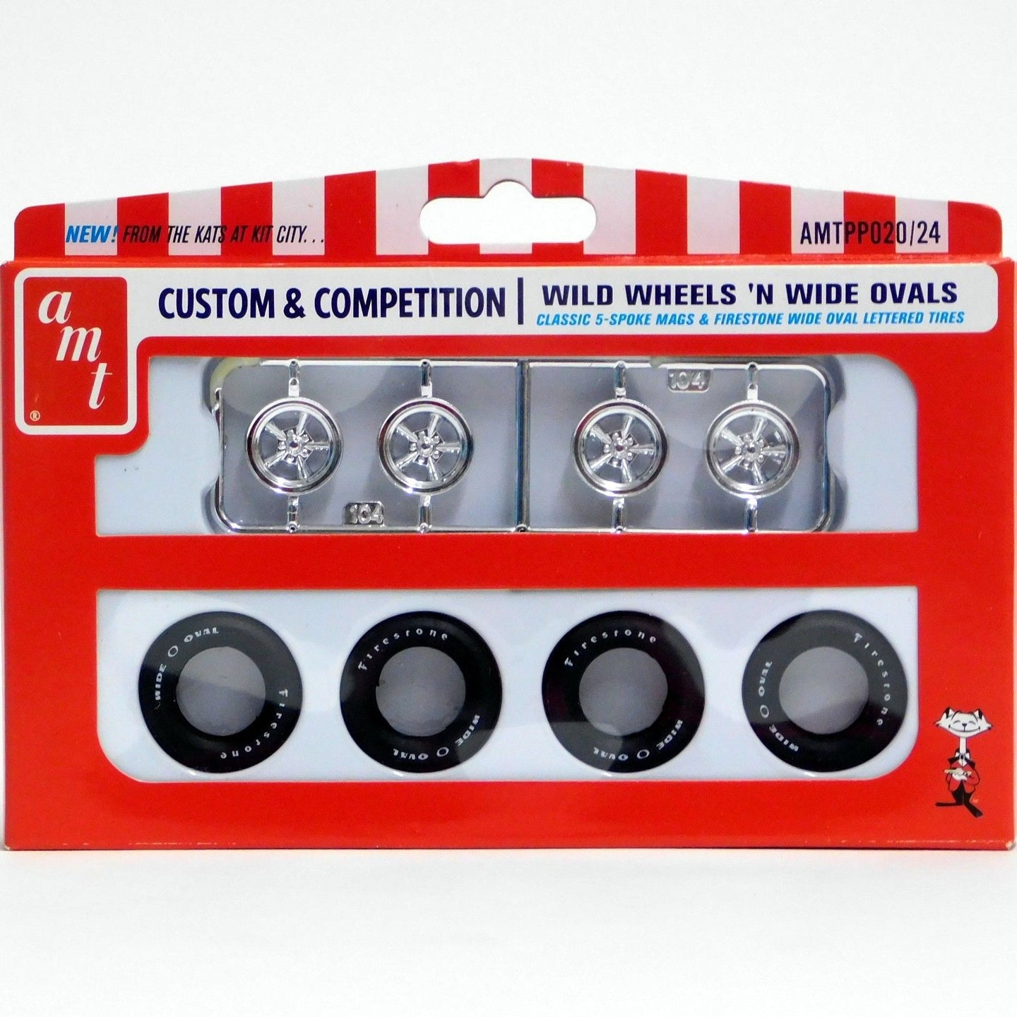 AMT 1/25 Custom & Competition Wild Wheels N Wide Ovals PP020