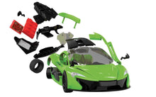Load image into Gallery viewer, Airfix QuickBuild Snap McLaren P1 Lime J6021