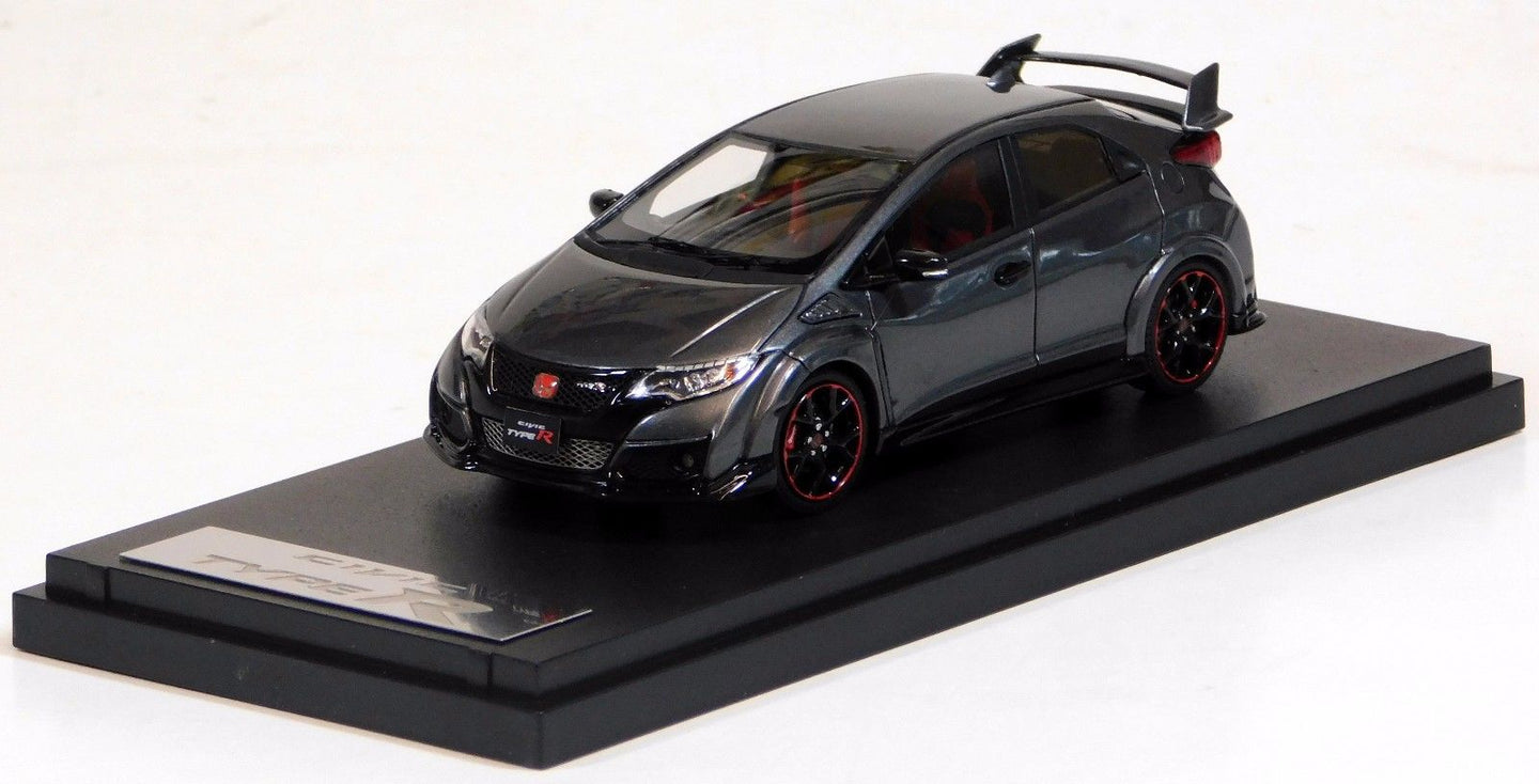 Mark43 1/43 Honda Civic Type R FK2 Polished Metal Metallic PM4348GM