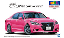 Load image into Gallery viewer, Aoshima 1/24 Pre Painted Toyota Crown Athlete Lexus GS GRS214 Pink 05404