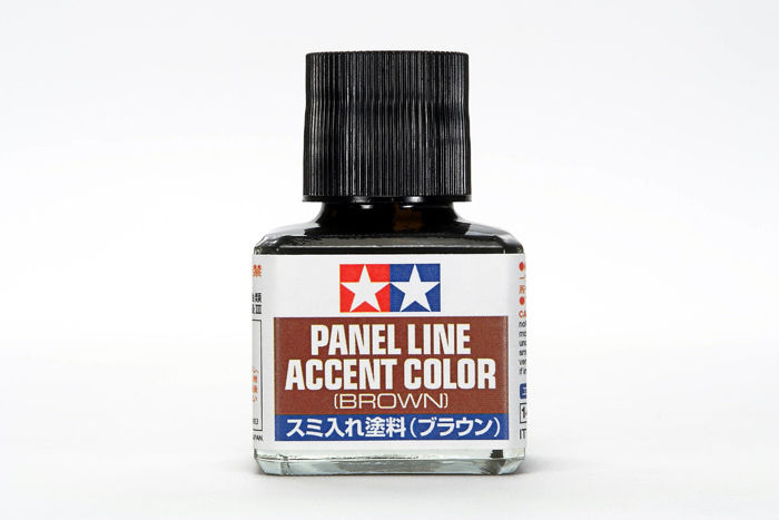 Tamiya 87132 Panel Line Accent Color Brown