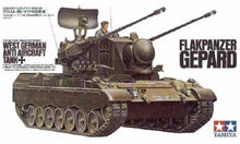 Load image into Gallery viewer, Tamiya 1/35 West German Flakpanzer Gepard Anti Aircraft Tank 35099