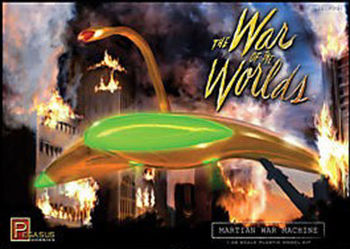 Pegasus War of the Worlds Classic 1/48  Martian War Machine 9001