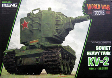 Meng Kids World War Toons Snaptite Soviet Heavy Tank KV-2 WWT-004
