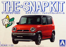 Load image into Gallery viewer, Aoshima Snap Kit 1/32 Suzuki Hustler Red 05414