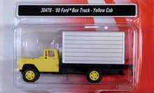 Load image into Gallery viewer, Classic Metal 1/87 HO Ford Box Truck 1960 Yellow Cab 30478