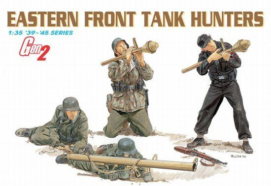 Dragon 1/35 German Eastern Front Tank Hunters 6279
