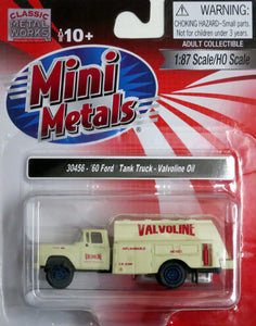 Classic Metal 1/87 HO Ford Tank Truck 1960 Valvoline Oil 30456