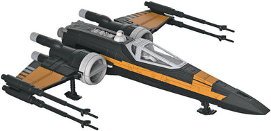 Revell Snaptite Star Wars Poe's Boosted X-Wing The last Jedi 851671