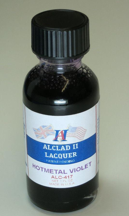 Alclad ALC417 1oz. Hot Metal Violet Lacquer Paint
