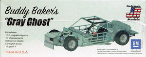 "Salvinos 1/25 Buddy BAKIer's ""Grey Ghost"" Oldsmobile 442 1980 Winner Plastic Kit BB01980D"