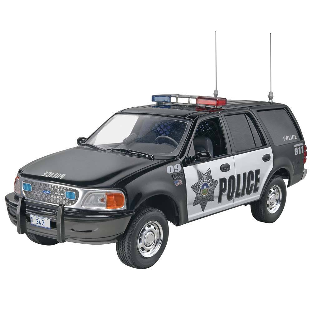 Revell Snaptite 1/25 Max Ford Police Expedition 851228