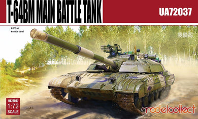 Modelcollect 1/72 Russian T64BM Main Battle Tank UA72037