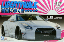 Load image into Gallery viewer, Aoshima 1/24 Nissan R35 GT-R Liberty Walk LB.Works Kit 05403
