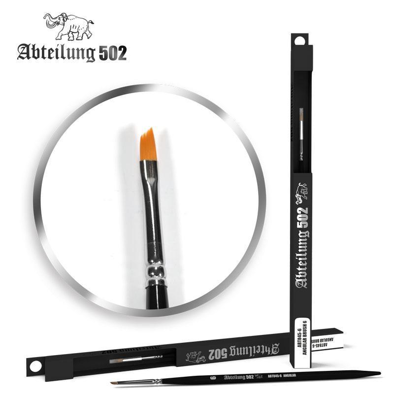 Abteilung 502 ABT8456 Angular Brush #6