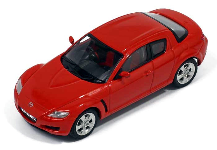 Premium X 1/43 Mazda RX-8 Orange 2003 DIECAST REPLICA PRD332