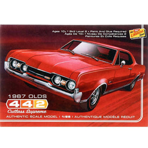 Lindberg 1/25 Olds Cutlass Supreme 1967 HL127