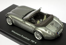 Load image into Gallery viewer, Schuco 1/43 Wiesmann Roadster MF 5 Grey Metallic 450888500