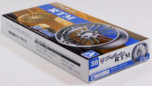 "Load image into Gallery viewer, Aoshima 1/24 Rim & Tire Set ( 38) Trafficstar RTM 20"" 05371"