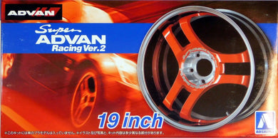 Aoshima 1/24 Rim & Tire Set ( 69) Super Advan 19