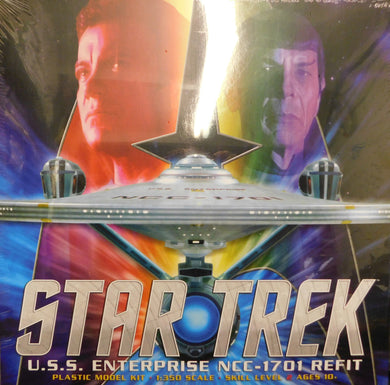 Polar Lights Star Trek 1/350 U.S.S Enterprise NCC-1701 Refit Model Kit POL949
