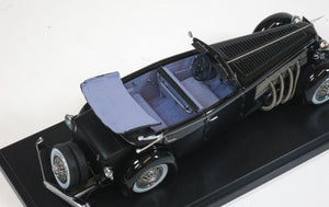 Esval 1/43 Duesenberg SJ Town Car 1937 by Rollson for Mr. Rudolf Bauer US43004C