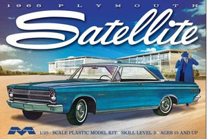 Moebius 1/25 Plymouth Satellite 1965 Plastic Model Kit MOE1215