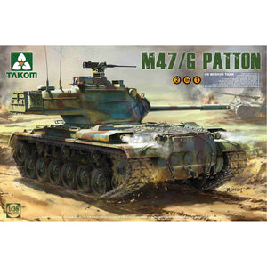 Takom 1/35 US M47/G Patton Medium Tank 2070