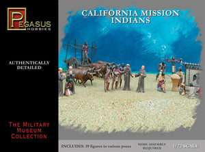 Pegasus 1/72 California Mission Indians 7051