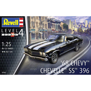 Revell 1/25 Chevy Chevelle SS 396 1968 07662