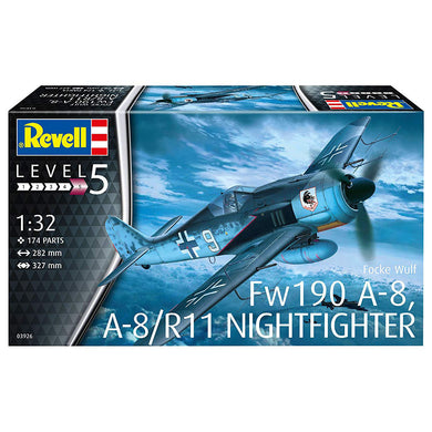 Revell Germany 1/32 Focke Wulf Fw190 A-8 A-8/Rll Night Fighter 03926