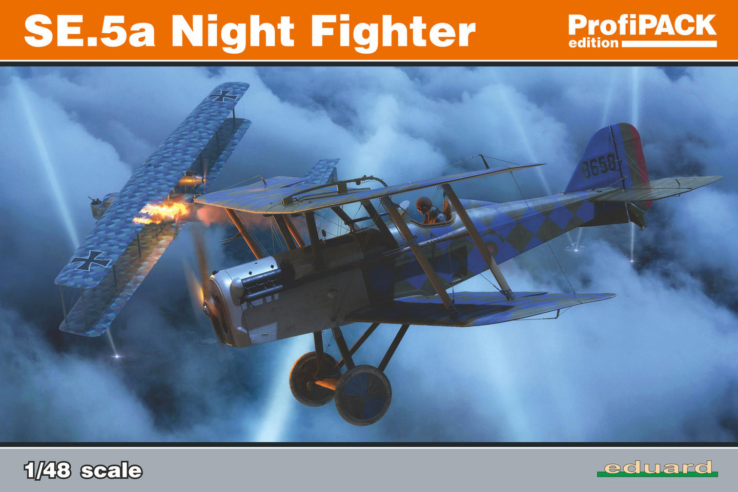 Eduard 1/48  British SE.5a Night Fighter ProfiPack 82133