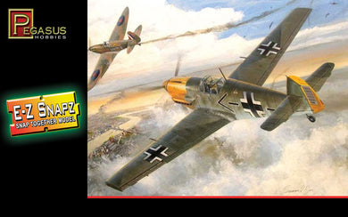 Pegasus 1/48 E-Z Snapz German Messerschmit Bf-109E4 8412
