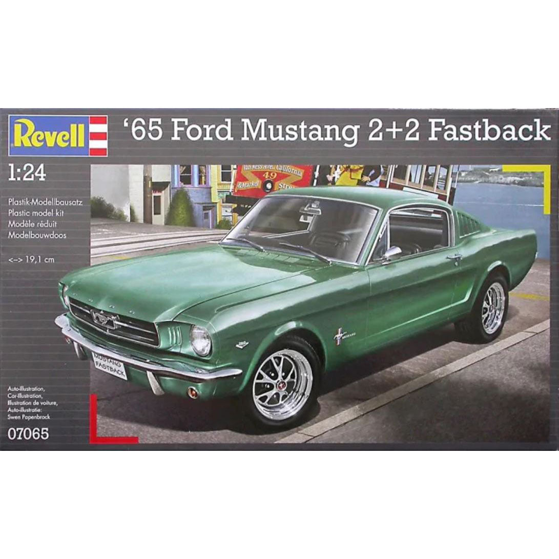 Revell 1/24  Ford Mustang 2+2 Fastback 1965 07065