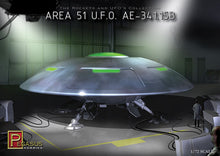 Load image into Gallery viewer, Pegasus 1/72 Area-51 UFO A.E.-341.15B 9100