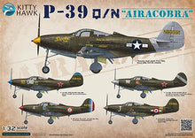 Load image into Gallery viewer, Kittyhawk 1/32 US P-39 Q/N Aircobra KH32013