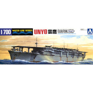 Aoshima 1/700 IJN Aircraft Carrier Unyo 04522