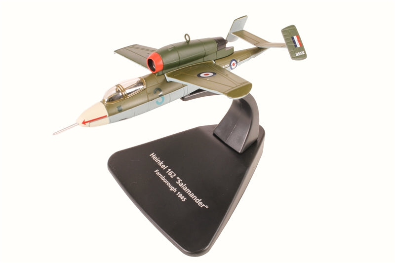 Oxford 1/72 AC076 German Heinkel He162 RAF 1945