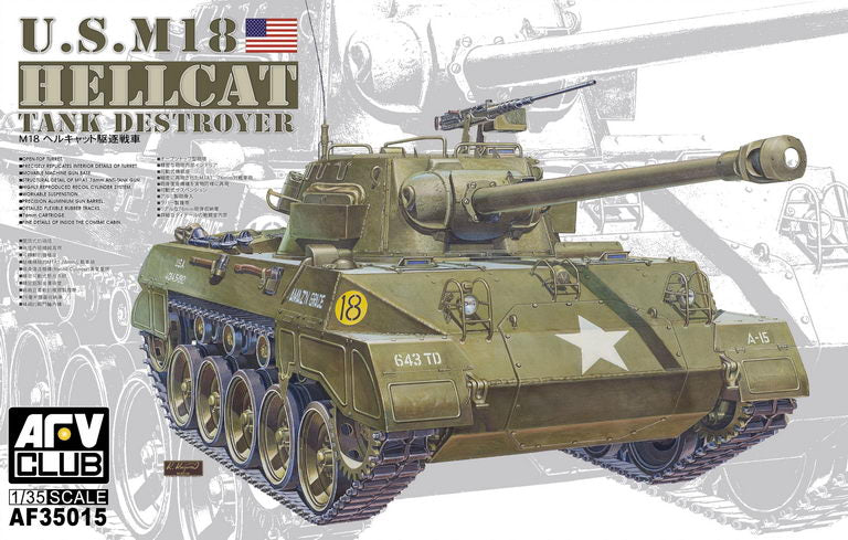 AFV Club 1/35 US M18 Hellcat Tank Destroyer 35015