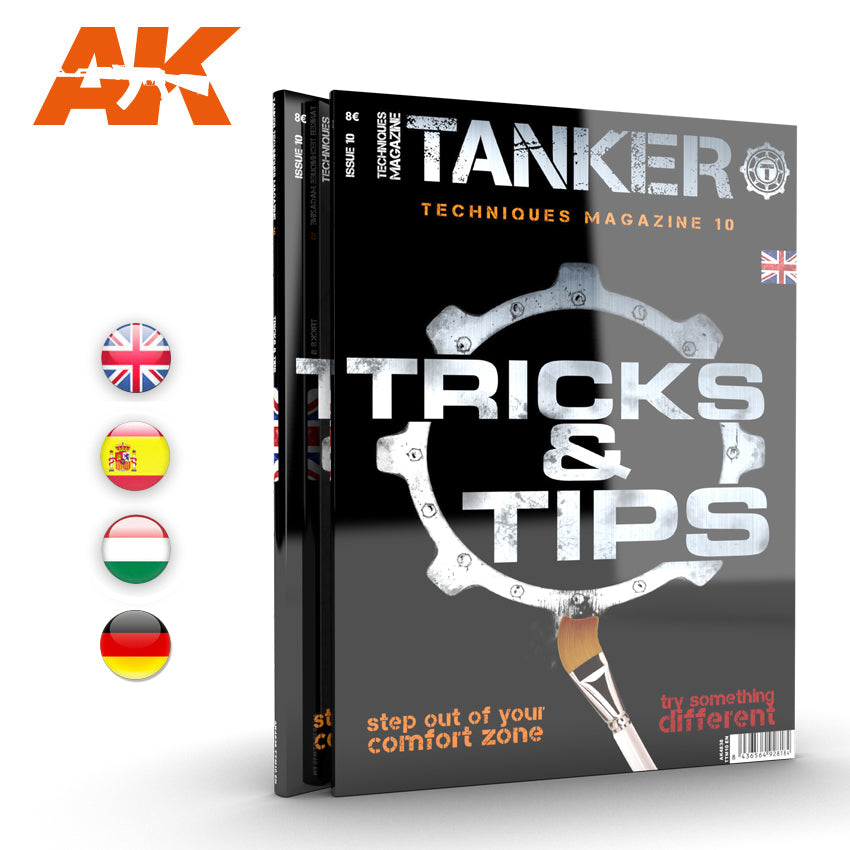 AK Interactive Book AK4838 Tanker Techniques 10 Tricks and Tips