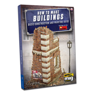 Ammo by Mig Book AMIG6135 How To Make Buildings Basic Construction and Painting