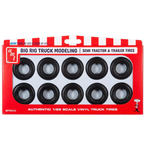 AMT 1/25 Big Rig Modeling Tires PP023