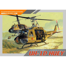 Load image into Gallery viewer, Dragon 1/35 US UH-1D Huey w/ 4 Crew Figures 3538