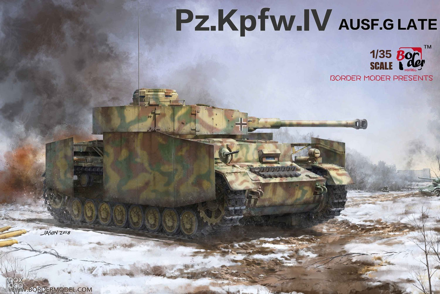 Border 1/35 German PzKpfw IV Ausf. G 2-in-1 Kit BT-001