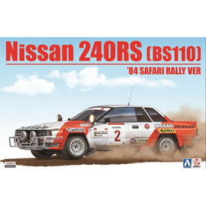 Aoshima/Beemax 1/24 Nissan 240RS (BS110) '84 Safari Rally Ver. 10433