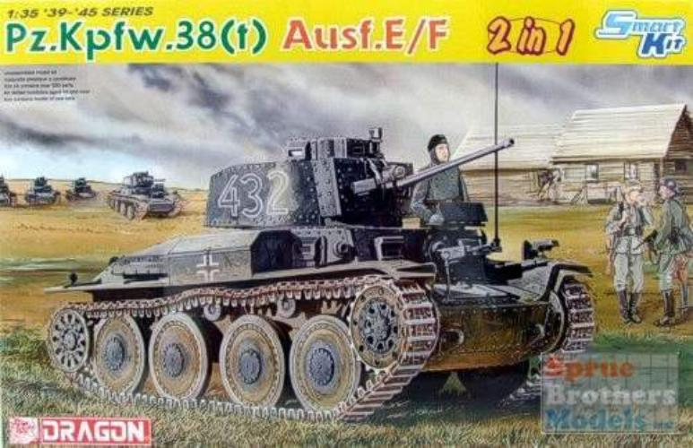 Dragon 1/35 German PzKpfw 38(t) Ausf. E/F 6434
