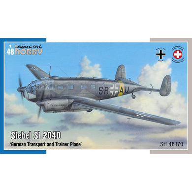 Special Hobby 1/48 German Siebel Si 204D German Transport and Trainer 48170