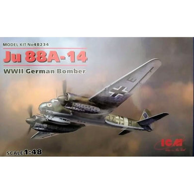 ICM 1/48 German Ju 88 A-14 Bomber 48234