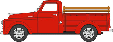 Oxford 1/87 HO 87DP48001 Dodge B-1B Pickup Truck 1948 Red COMING SOON