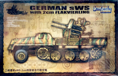 Great Wall Hobby 1/35 German SWS w/ 2cm Flakveirling L3525